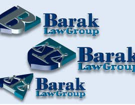 #316 para Logo Design for Barak Law Group de DeakGabi