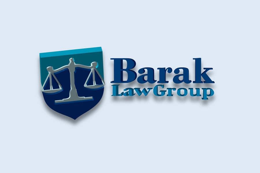 Inscrição nº                                         322                                      do Concurso para                                         Logo Design for Barak Law Group