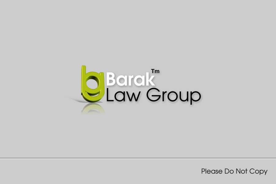 Inscrição nº                                         168                                      do Concurso para                                         Logo Design for Barak Law Group