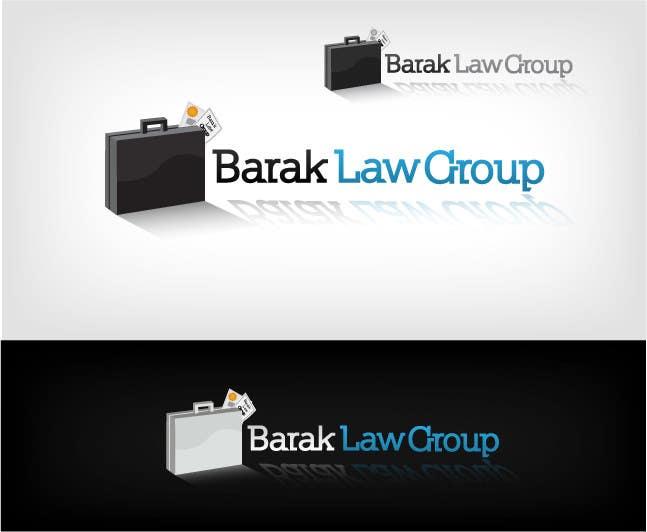Inscrição nº                                         266                                      do Concurso para                                         Logo Design for Barak Law Group