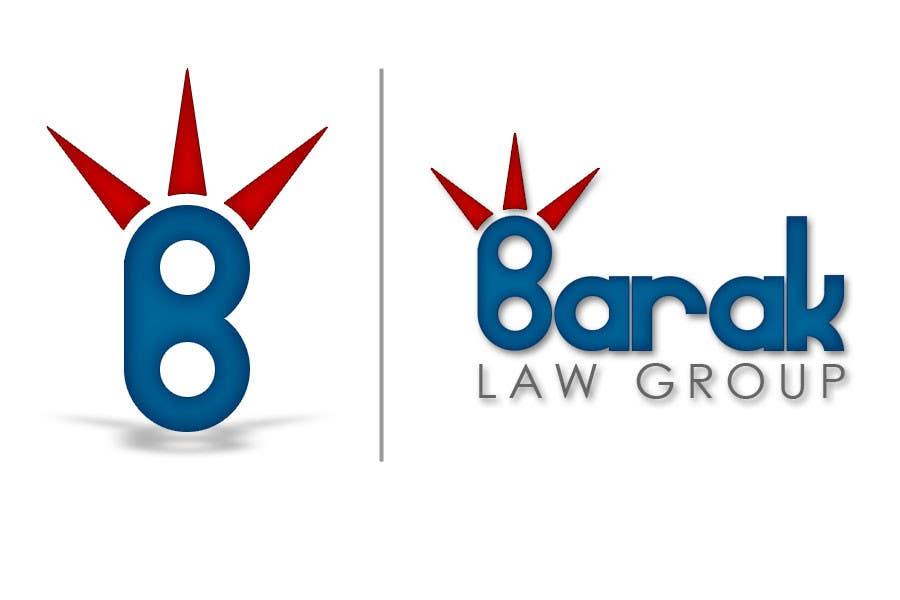 Inscrição nº                                         121                                      do Concurso para                                         Logo Design for Barak Law Group