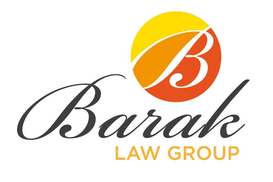 Inscrição nº                                         245                                      do Concurso para                                         Logo Design for Barak Law Group