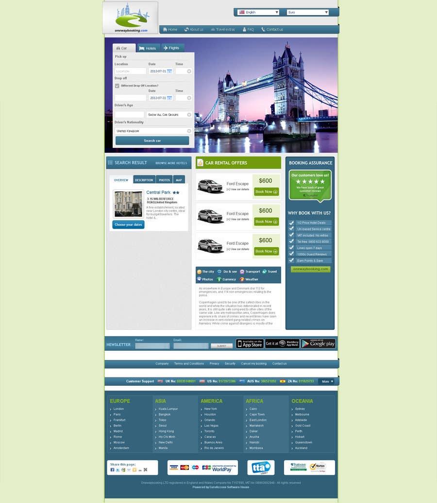 Konkurrenceindlæg #7 for Design a Website Mockup for Landing Pages