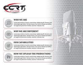 #12 for Design a Brochure For CCRT Communciations / CCRT STUDIOS by SmartArtStudios