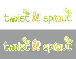 "ICiprian tarafından Design a Logo for Online Health Food Store - Organic food  ""Twist and Sprout"" BIG bonus for awesome designs - and future WORK için no 25"