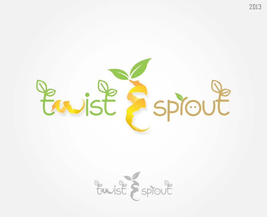 "#18 for Design a Logo for Online Health Food Store - Organic food  ""Twist and Sprout"" BIG bonus for awesome designs - and future WORK by ledzcatindoy"