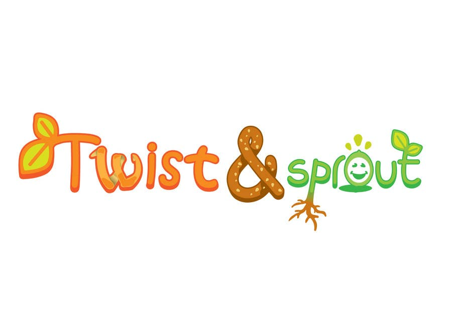 "Konkurrenceindlæg #24 for Design a Logo for Online Health Food Store - Organic food  ""Twist and Sprout"" BIG bonus for awesome designs - and future WORK"
