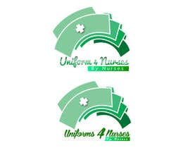 "#38 para Design a Logo for Uniform Company ""Uniforms 4 Nurses, by Nurses"" (clothing company) por SevenPixelz"