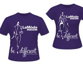 #17 para T-shirt Design for Le Mode Magazine de lcperilla