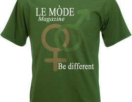 #180 cho T-shirt Design for Le Mode Magazine bởi Wariouzs