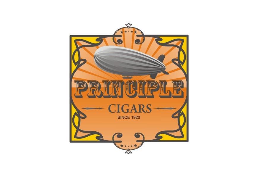 Penyertaan Peraduan #63 untuk Design a CIGAR Band/Logo/Label - Aviation Theme