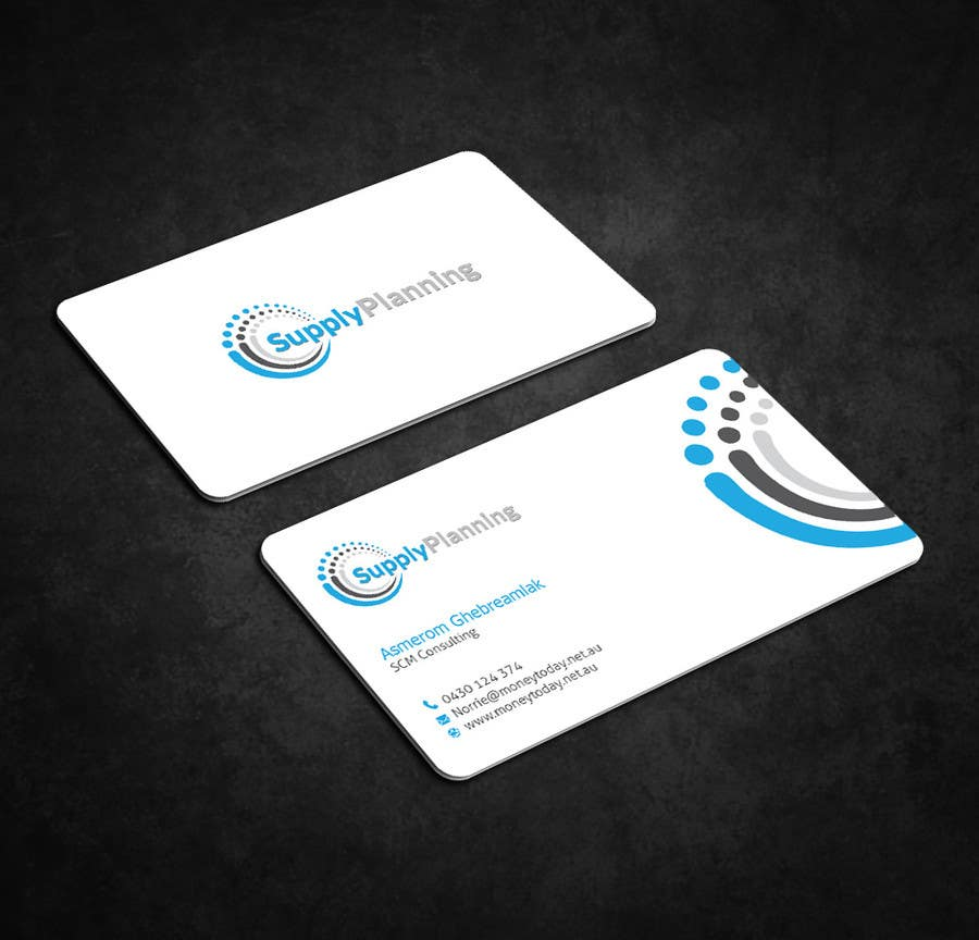 Entry #123 by dnoman20 for Design Business Cards for Supplyplanning ...