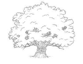 #26 para Illustrate an Oak tree with Character por lendula