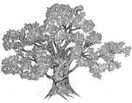 #33 para Illustrate an Oak tree with Character por jesyrose