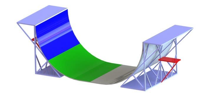 Proposition n°7 du concours Design a Mini Skate ramp