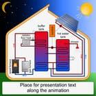 Illustration Design of solar heating for www.thomasgregersen.dk için Graphic Design15 No.lu Yarışma Girdisi