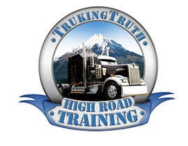 #137 for Design a Logo for TruckingTruth.com High Road CDL Training Program by OmB