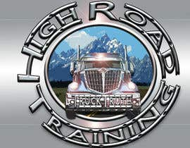 #119 for Design a Logo for TruckingTruth.com High Road CDL Training Program by ilocun14