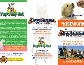 #8 for Design a Partnership Brochure for Off Leash K9 Raleigh and Pups Day Out by milkshake235