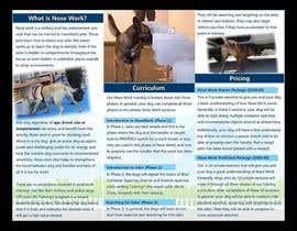 Nro 2 kilpailuun Design a Partnership Brochure for Off Leash K9 Raleigh and Pups Day Out käyttäjältä publishinggurus