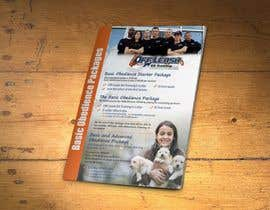 #1 para Design a Flyer for Off Leash K9 Training Raleigh 5x7 front and back por xtreemsteel