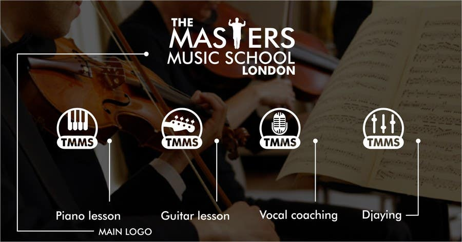 Contest Entry #37 for Develop a Corporate Identity for a Music School