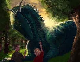 #20 untuk Create an Illustration for a book cover oleh DragonFlamely
