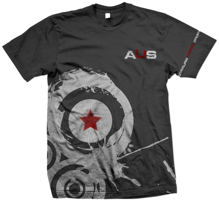 Konkurrenceindlæg #81 for T-shirt Design for Australian United Sportswear