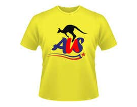 #56 para T-shirt Design for Australian United Sportswear de junaidaf