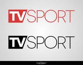 nº 83 pour Design a brilliant logo for TVsport par stevepaint