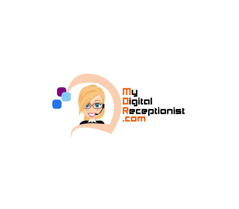 Penyertaan Peraduan #30 untuk Design a Logo for A Digital Receptionist Website ASAP!