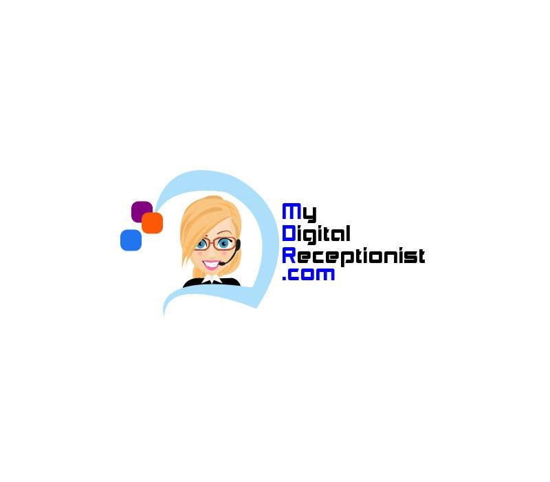 Penyertaan Peraduan #44 untuk Design a Logo for A Digital Receptionist Website ASAP!