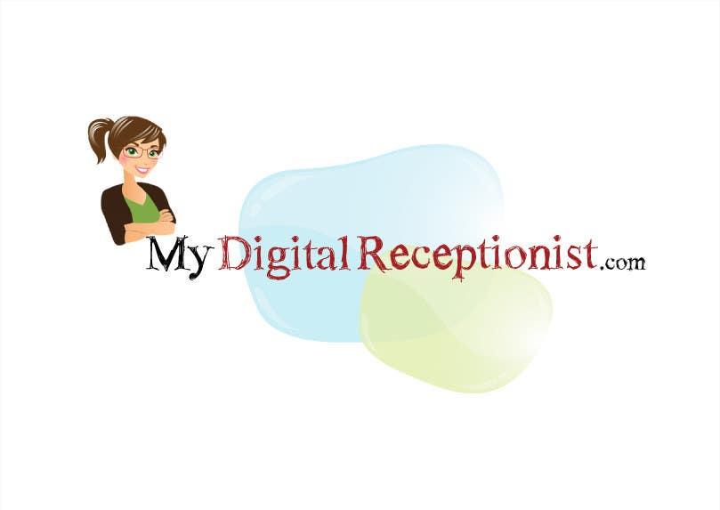 Penyertaan Peraduan #27 untuk Design a Logo for A Digital Receptionist Website ASAP!