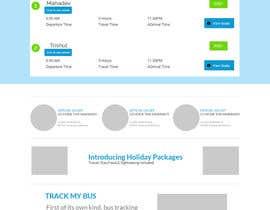 Nro 1 kilpailuun Create a website design for a travel portal käyttäjältä aryamaity