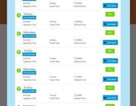 Nro 8 kilpailuun Create a website design for a travel portal käyttäjältä aryamaity