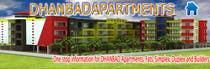 Graphic Design Entri Peraduan #3 for Design a Banner for DhanbadApartments.com