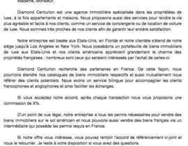 Lettre de partenariat avec une agence immobili re r dig for Cuisinier francais 6 lettres