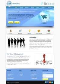 #45 for Design for a Marketing / Consulting website by helixnebula2010