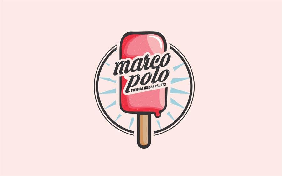 design a logo for marco polo premium artisan paletas a premium and trendy brand of ice. Black Bedroom Furniture Sets. Home Design Ideas
