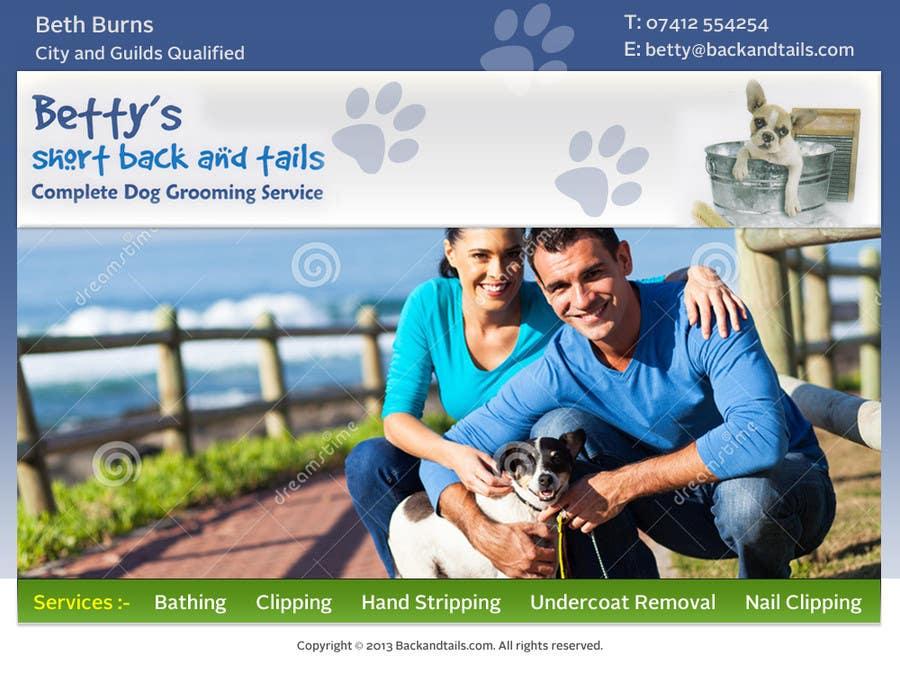 Inscrição nº                                         5                                      do Concurso para                                         Convert a two-sided business card into a single page Website