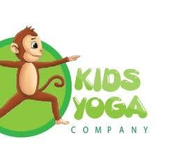 nickkad tarafından Design a Logo for Kids Yoga using Monkey için no 65