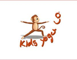 nº 52 pour Design a Logo for Kids Yoga using Monkey par mokshu2008