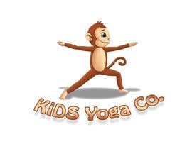 nº 15 pour Design a Logo for Kids Yoga using Monkey par khaqanaizad