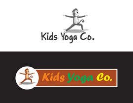 nº 32 pour Design a Logo for Kids Yoga using Monkey par linokvarghese