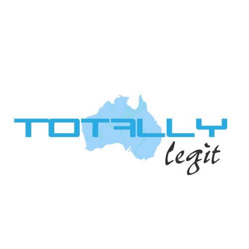 Kilpailutyö #1 kilpailussa Design a Logo for TotallyLegit.Com.Au