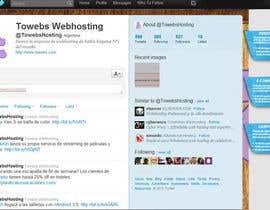 #8 untuk Twitter Background for towebs.com oleh tutunjieva