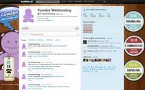 Graphic Design Kilpailutyö #15 kilpailuun Twitter Background for towebs.com