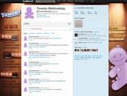 Graphic Design Kilpailutyö #30 kilpailuun Twitter Background for towebs.com