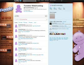 #30 para Twitter Background for towebs.com por pxleight