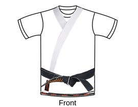 nº 2 pour Design a T-Shirt for a kids martial arts program par topprofessional